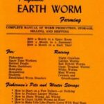 profitable earth worming farming