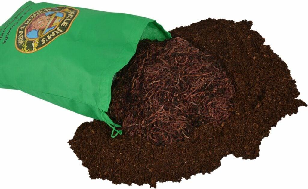Uncle Jim's Big Composting Worm Bag