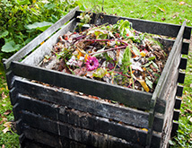 compost bin made at home