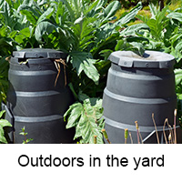 outdoor composters