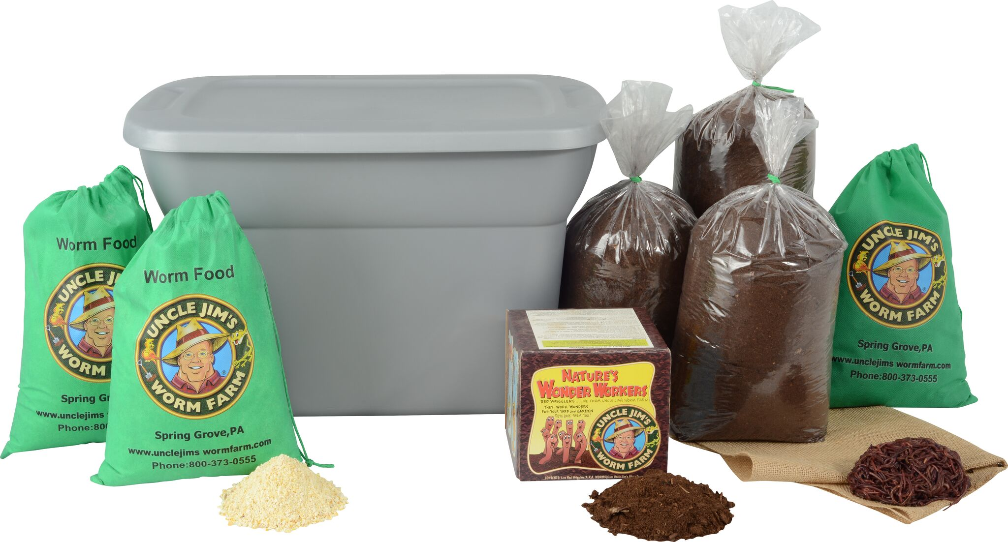 Worm Ranch Kit Free Shipping