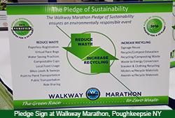 sustainable pledge sign