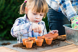 spring gardening and composting