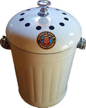 Ceramic composting pail