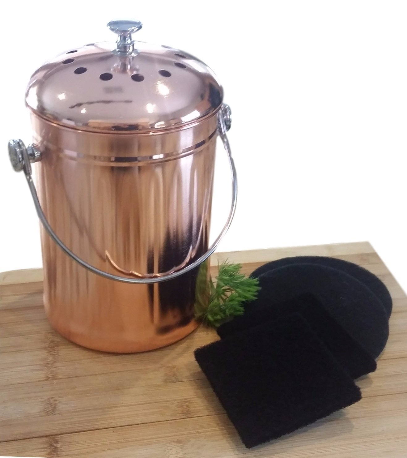 *NEW* Rose Gold Compost Pail ...