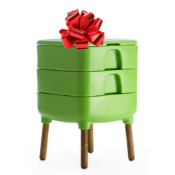 composter gift vermicomposting